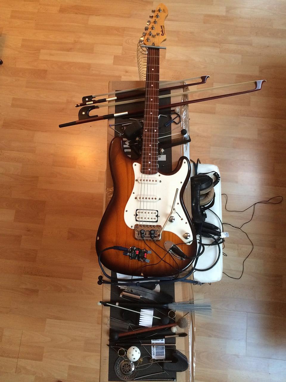 Prepared E Guitar